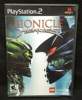 Bionicle Heroes - PS2 Playstation 2 Game Tested Working Complete