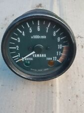 YAMAHA RD 125 RD 125  SPEEDO CLOCK