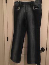 Baby Phat Jean Co Women's Blue Denim Jeans Fashion Pants Sz 20