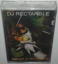 DJ RECTANGLE DEADLY NEEDLES BRAND NEW SEALED ULTRA RARE CASSETTE TAPE