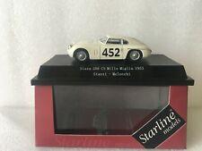 STARLINE MODELS siata 208 CS Mille Miglia 1953 Sazzi- Melocchi 1/43