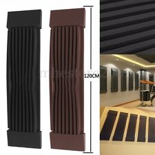 1PC Acoustic Wedge Studio Soundproof Panel Foam Wall Tiles Pad Black Coffee