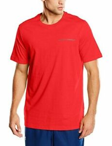 NWT - Under Armour Charged Cotton Short Sleeve Loose Fit T-Shirt, Red