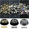 Flatback AB Diamond Crystal Rhinestone Gems For 3D Nail Art Phone DIY Decor