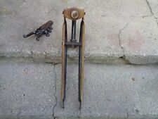 """WAR/POST ERA """"ROLLFAST""""/OTHERS SPRINGER FORK BOYS 26"""" BICYCLE RUSTY/DIRTY/GOOD"""