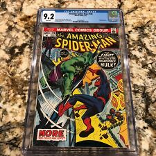 Amazing Spider-man # 120 CGC 9.2 NM WHITE Pages HIGH GRADE COPY Spidey vs Hulk