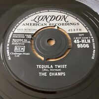 The Champs ~ Tequila Twist / Limbo Rock (London 45-HLH 9506) 1962 1st UK Vinyl