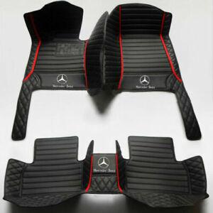 1998-2022 For Mercedes-Benz -ALL Models Luxury Custom waterproof floor mats