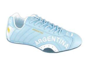 SPOOKS   ARGENTINIEN   BLAU   WM  SCHUHE  LEDER  NEU  Fan Artikel   Grösse : 38