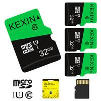 3pcs 32G 64G Micro SD TF Card SDXC SDHC Flash C10 U1 Memory Card 80MB/s TF Card