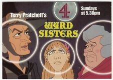 Terry Pratchett's Wyrd Sisters On Channel 4 Advertising PPC, Unused - Magrat