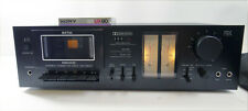 Vintage Rare Nikko Stereo Cassette Deck Model ND-590II Made in Japan W/TapeII
