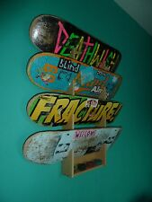 Skateboard Rack. Holds up to 4 boards. Wall Mounted.