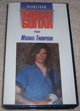 Beginning Rock Guitar with Michael Thompson VHS Video Starlicks