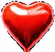 Helium Ballon Feuille Cœur Rouge Saint Valentin Cadeau Anniversaire de Mariage