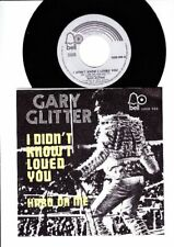 Garry Glitter - I Didn't Know Loved You - Hard on Me -  7 Inch Vinyl  - BELGIUM
