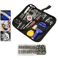504pcs Professional Watch Repair Tool Kit Case Opener Link Remover Spring Bar