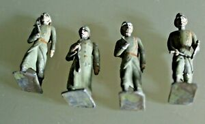 Soldier Old Lead CBG Mignot Bundle 4 Soldiers 14/18