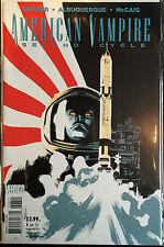 American Vampire Second Cycle #6 NM- 1st Print Free UK P&P Vertigo Comics