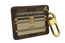 LOUIS VUITTON Damier Ebene INVENTEUR Bag Charm Key Ring LIMITED EDITION