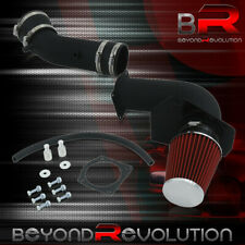 For 1999 2004 Ford Mustang 38l V6 Cold Air Intake System Black With 3 Red Filter Fits Mustang