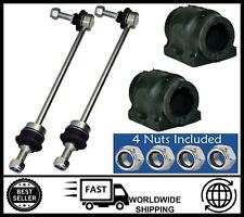 KIT FOR Land Rover Discovery Mk3 Mk4 (FRONT) Anti Roll Bar Bushes+Drop Links