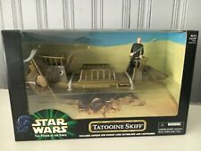 Star Wars 1999 Power of the Force POTF2 Tatooine Skiff Barge Hasbro
