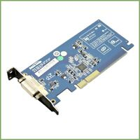 HP Silicon image DVI-D PCI-e low profile adapter card - 398333-001 & warranty