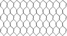 "304 Stainless Steel 22 Ga. Chicken Wire, Fence  48"" x 150' x 1"" Hex Mesh"