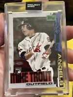 TOPPS PROJECT 2020 Card 85 - 2011 MIKE TROUT by Jacob Rochester -Print Run 33818