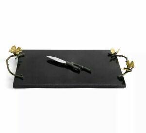 Michael Aram Butterfly Ginkgo Cheese Board w/ Knife $225