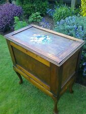 1920's Oak Craft/Sewing/Toy/Storage Cabinet/Box