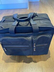 TUMI Roller Laptop Briefcase