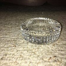 Vintage Waterford Heavy Lead Crystal Lismore Pattern Ashtray