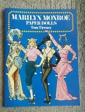 Marilyn Monroe Paper Dolls Tom Tierney 1979 UNCUT