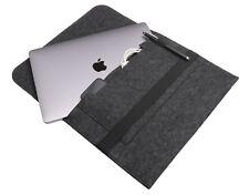 """Apple MacBook Pro 13"""" dal 2016 Borsa FELTRO GRIGIO Feltro Borsa Sleeve Case schutzhüll"""