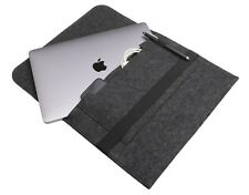 Schutzhülle Apple MacBook Pro 13' ab 2016 Filz dunkelgrau Tasche Sleeve Cover