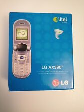 Lg Ax390 Alltel Push to Talk Cell Phone Mobile Flip Phone - New in Open Box