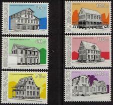 Surinam / Suriname 1991 Monumental houses gebaude maison MNH