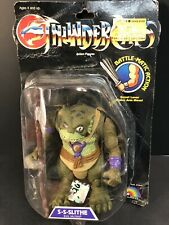 LJN Vintage Thundercats Evil Mutant Battle Matic Slithe Action Figure Sealed