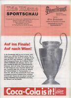 EC I 89/90 Bayern München - AC Mailand / Milan (Blaue)