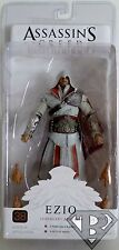 "EZIO LEGENDARY ASSASSIN IVORY Assassin's Creed Brotherhood 7"" Figure Neca 2011"