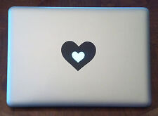 Heart Vinyl Sticker Decal Macbook Pro window laptop girl lady love happy