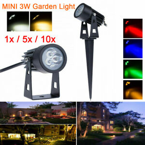 Waterproof MINI 3W LED Landscape Light Garden Light Outdoor Spot Lighting Lamp