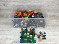 Lego Bricks 1,5 Kg + 17 Minifigures~ Star Wars+ Minecraft+ More~ Free P&P