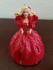 1993 Hallmark Keepsake Holiday Ornament Holiday Barbie New Collector's Series