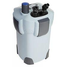 3-STAGE 75 Gallon AQUARIUM CANISTER FILTER + 9W UV STERILIZER 265 GPH FRESH/SALT