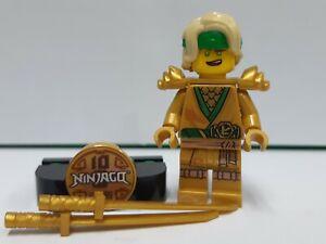 LEGO Ninjago 71735 Lloyd Legacy minifigure with stand (NEW!) Boys