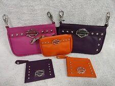 Harley Davidson Hip Bag Crossbody Coin Purse Wallet
