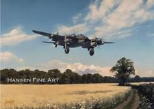 De Havilland Mosquito RAF Aircraft Avion vide Anniversaire Fête des Pères Carte